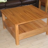 Table basse en orme